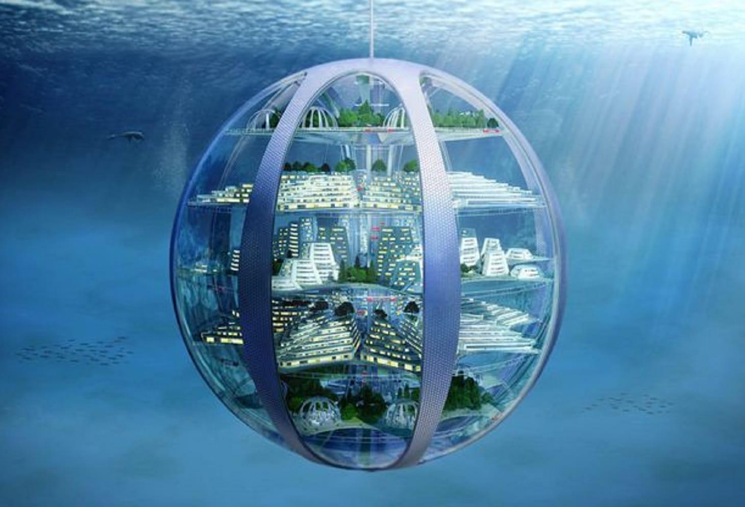 La Vita Nel 2116 Sotto Acqua