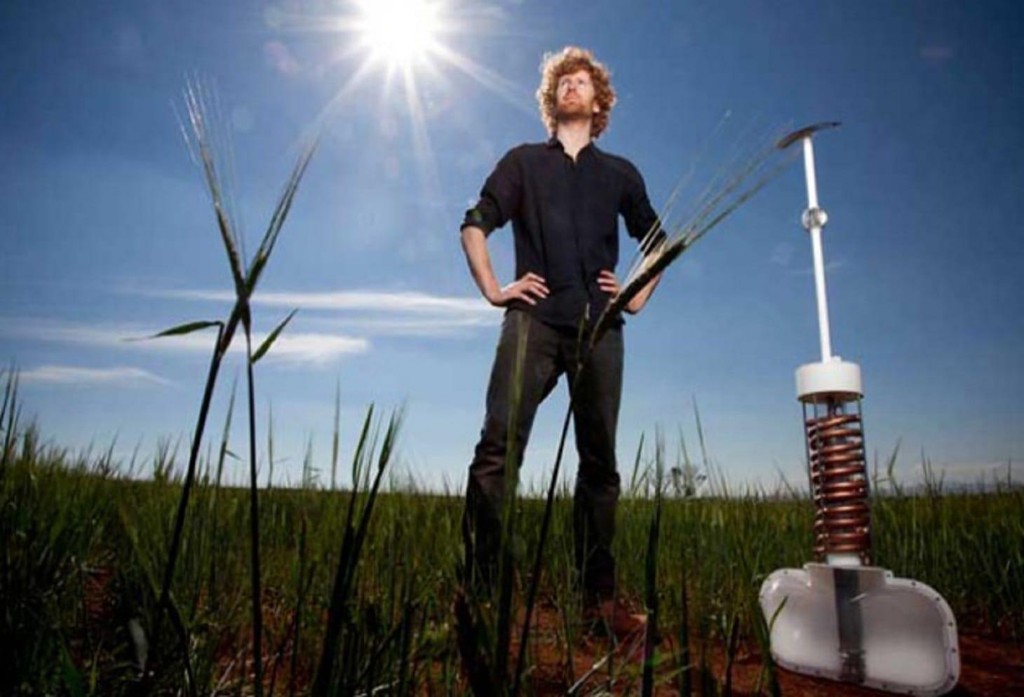 Airdrop il sistema di irrigazione che estrae acqua dall 39 aria for Sistema irrigazione