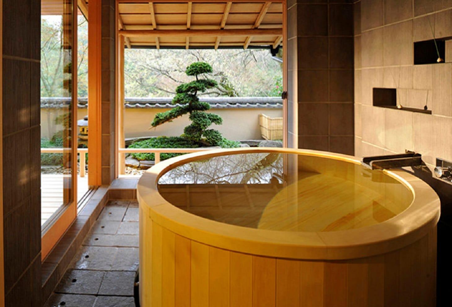 Il rito del benessere giapponese alla scoperta di bagno ofuro - Bagno stile giapponese ...