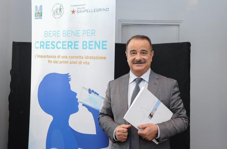 Giuseppe Di Mauro, SIPPS sostiene Sanpellegrino nelle scuole