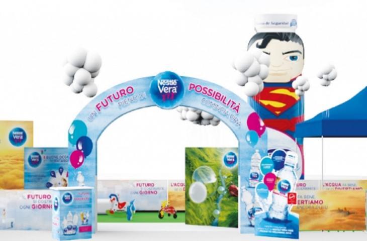 Al via da Napoli la campagna Nestlé Vera sulla corretta idratazione
