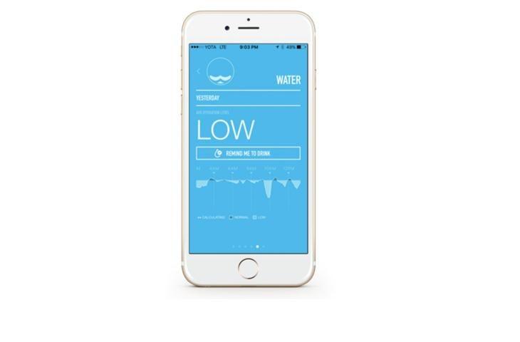 Pronto a monitorare la tua idratazione? Ora puoi farlo con un'app