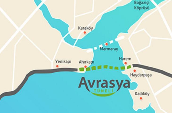 Avarasya, il tunnel sott'acqua che attraversa il Bosforo