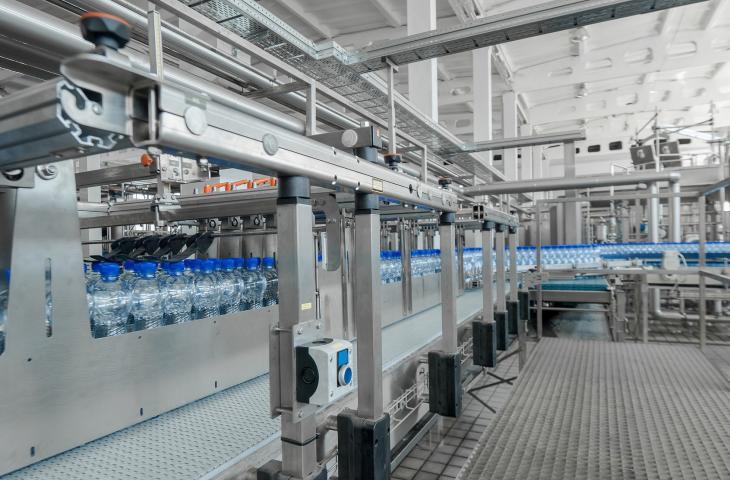 Bottiglie d'acqua: settore in crescita negli Stati Uniti