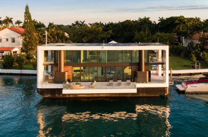 Case galleggianti: la nuova frontiera del lusso – In a Bottle