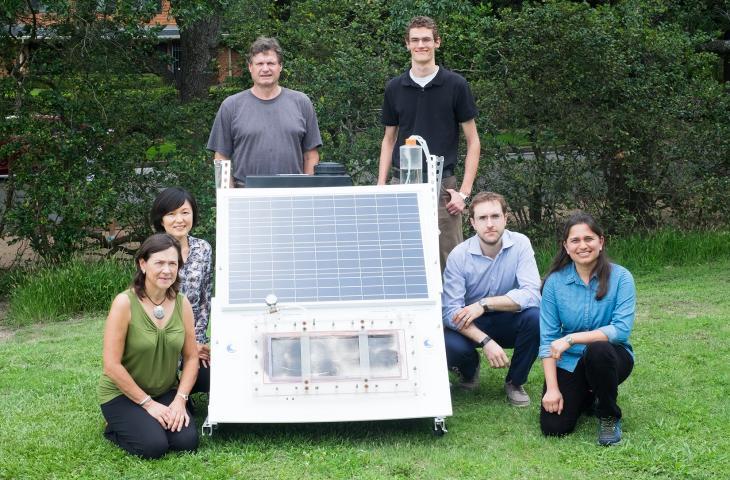Con il desalinatore solare portatile acqua potabile ovunque