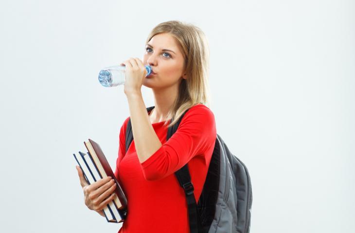 Maturità, corretta idratazione e riposo i segreti per affrontare lo stress da esami - In a Bottle
