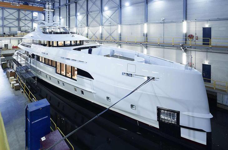 """Il """"Project Electra"""" di Heesen, lo yacht ibrido sostenibile che rispetta l'ambiente - In a Bottle"""
