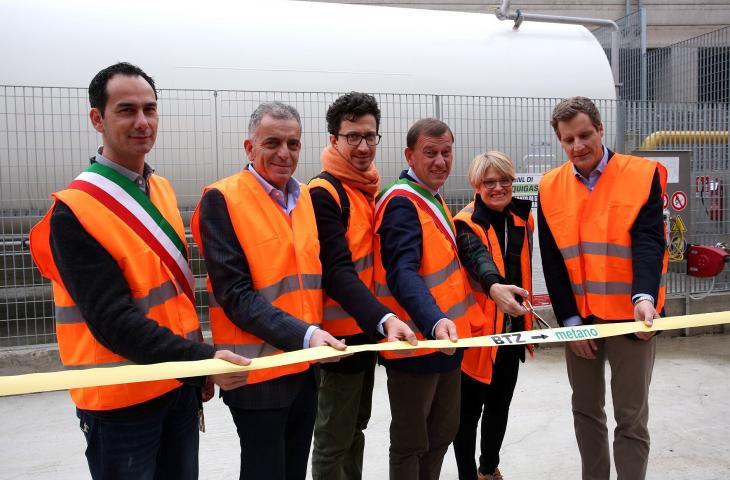 Inaugurato lo stabilimento di Acqua Panna a energia pulita. Un'altra iniziativa del Gruppo Sanpellegrino per lo sviluppo sostenibile