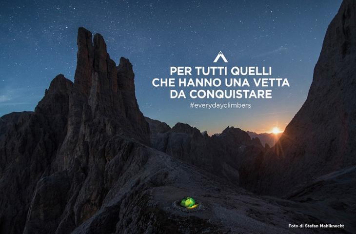 Everydayclimbers Photo Contest di Levissima: al via le iscrizioni