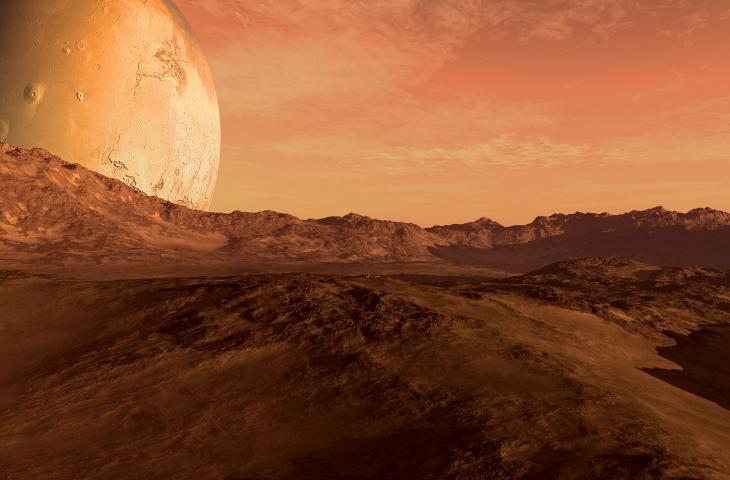 Ghiaccio secco all'origine dell'acqua su Marte