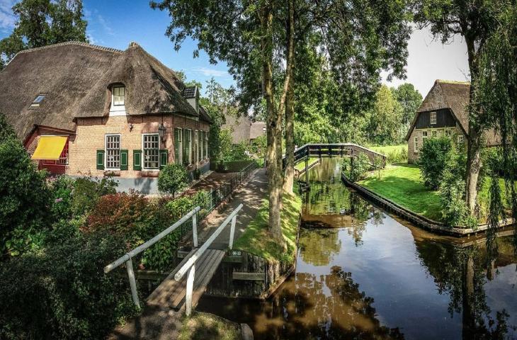 Giethoorn, la Venezia dei Paesi Bassi