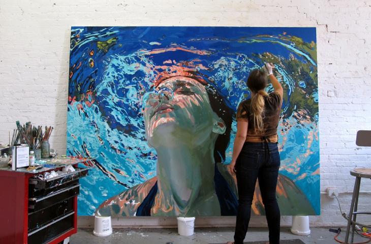 I dipinti d'acqua di Samantha French