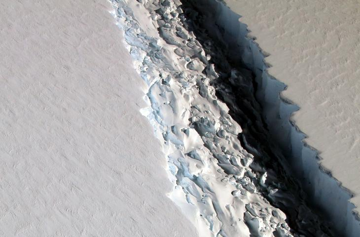 In Antartide la piattaforma Larsen C rischia il collasso