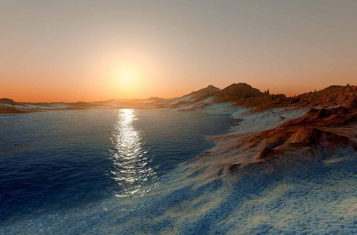 Acqua su Marte Adatta alla Vita Grazie ai Sali Minerali – In a Bottle