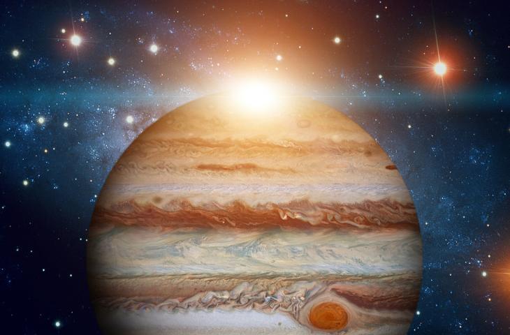 Forse l'acqua terrestre viene da Giove
