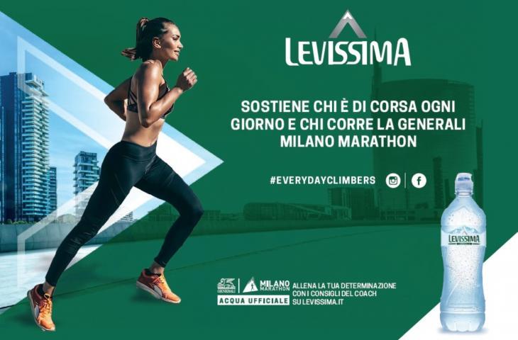 Levissima acqua ufficiale della Generali Milano Marathon 2019 - In a Bottle