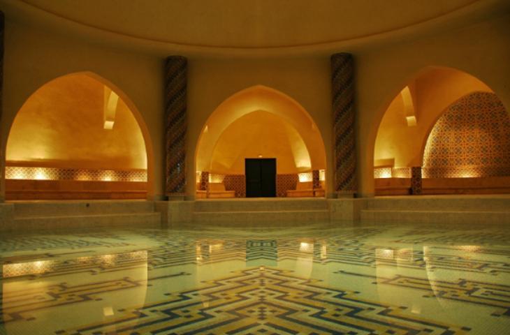 Bagno turco nella tua stanza da bagno di pietra