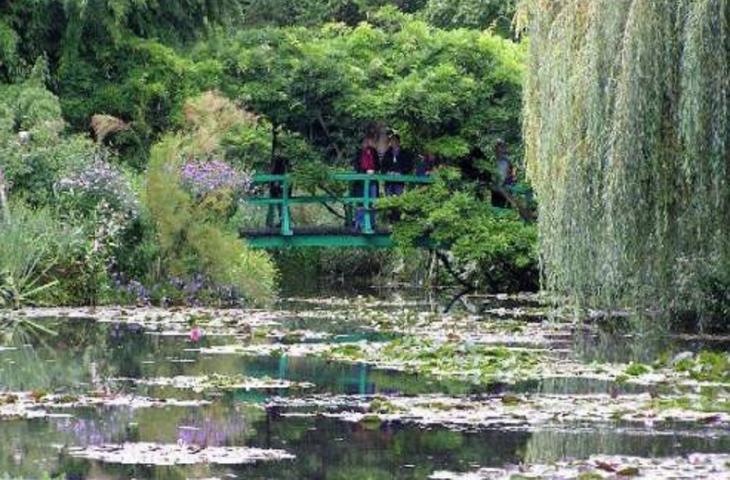 Lo specchio d'acqua ritratto da Monet esiste