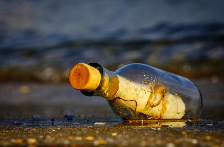 Messaggio in bottiglia ritrovato dopo 18 anni - In a Bottle