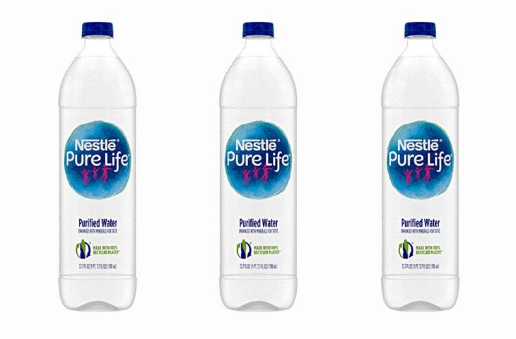 4542141448 Nestlé Pure Life launches new 100%-recycled plastic bottle | In a Bottle