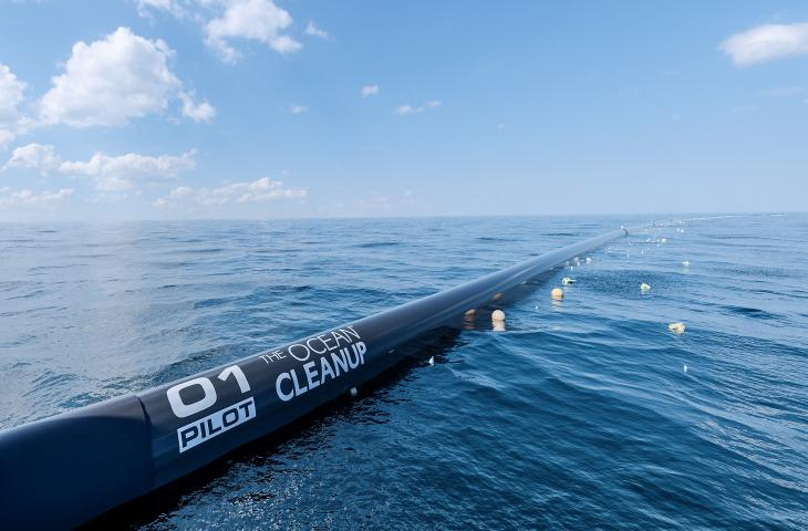 Ocean CleanUp, la barriera artificiale per pulire l'Oceano Pacifico