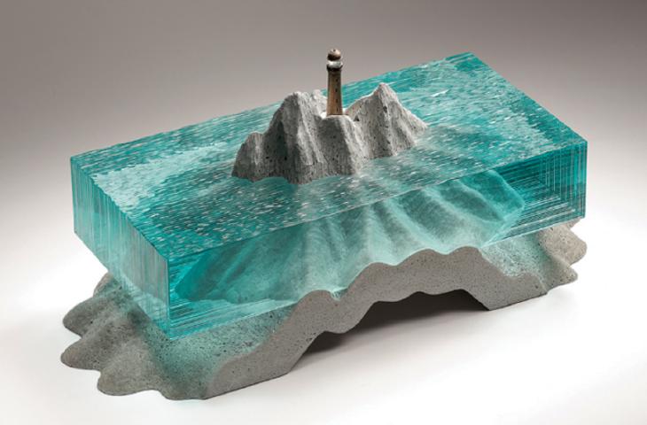 Ben Young e le sue sculture liquide ispirate dall'oceano alt_tag