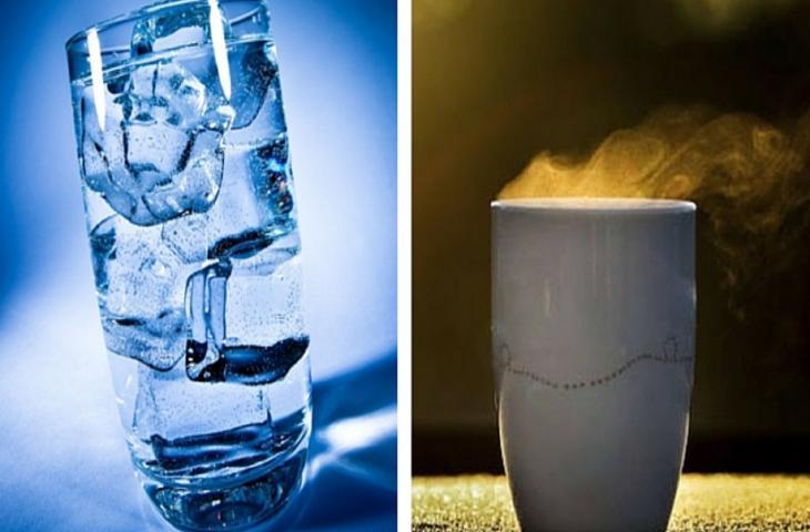 Fredda o calda? Ecco i diversi benefici dell'acqua