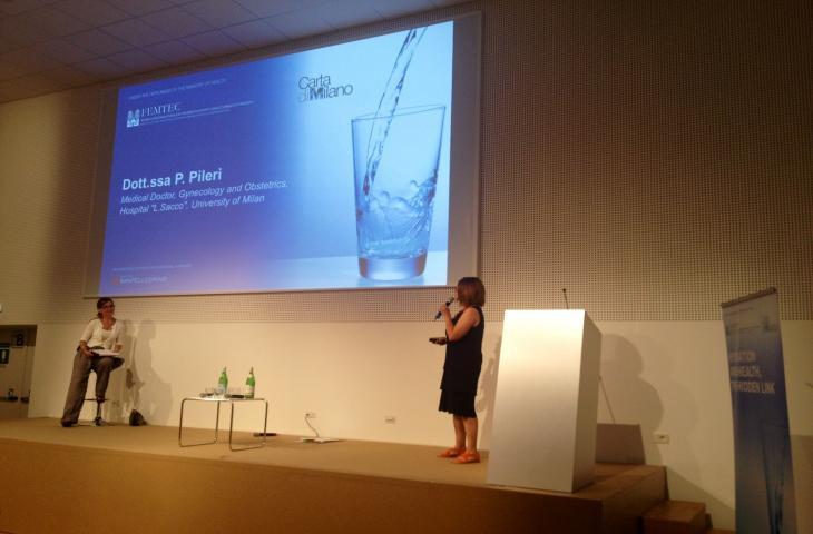 Paola Pileri e l'importanza dell'idratazione per la salute delle donne
