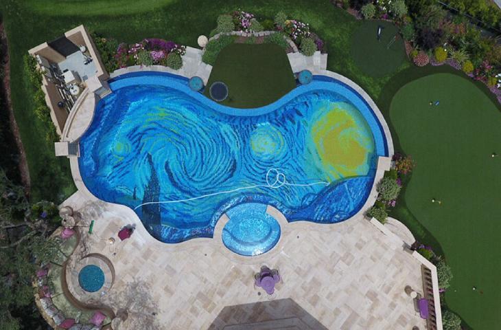 E' californiana la piscina ispirata a Van Gogh alt_tag