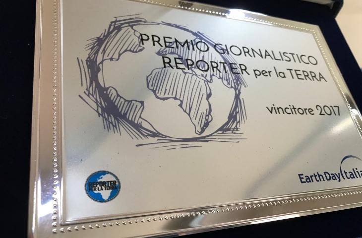 Premio Reporter per la Terra 2017 a Prometeo di AdnKronos