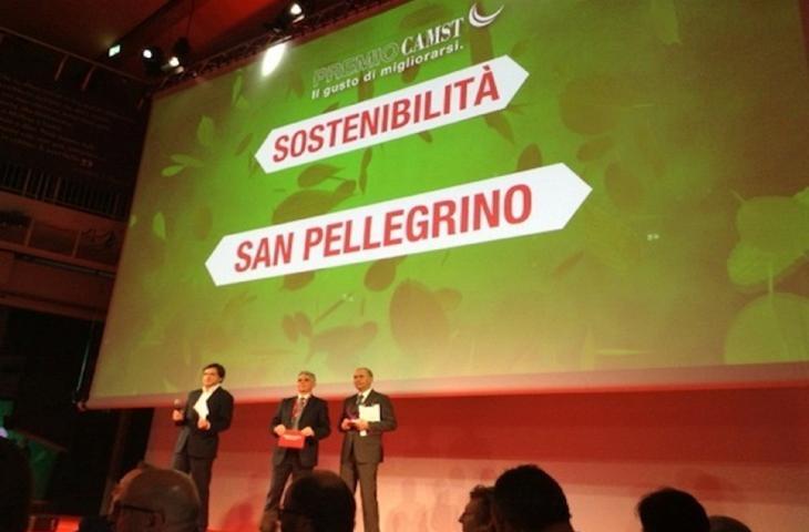 """""""Un treno d'acqua"""", miglior progetto sostenibile al Gruppo Sanpellegrino_alt tag"""