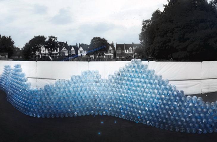 Quanta Acqua Vasca Da Bagno : Waving wall l installazione che racconta l acqua invisibile