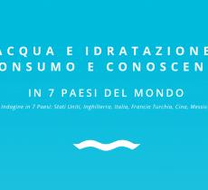 Idratazione: italiani ben informati ma poco virtuosi