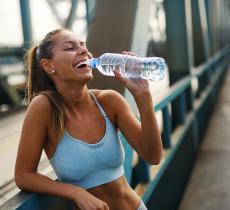 L'importanza di una corretta idratazione quando si fa sport - In a bottle