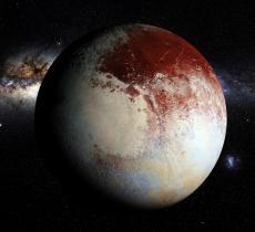 Plutone: Acqua con tracce di Ammonica Erutta da Vulcano – In a Bottle