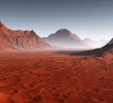 Acqua su Marte Pianeta Rosso pieno di Ghiaccio - In a Bottle