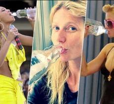 Acqua e Vip: ecco cosa ne pensano le grandi celebrità – In a Bottle