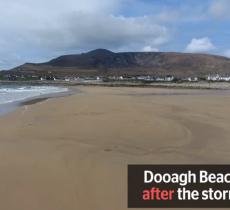 Dopo 33 anni torna la spiaggia di Dooagh  alt_tag