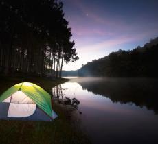 """Arriva il """"Water Camping"""", la nuova tendenza per gli amanti del campeggio e della pesca - In a Bottle"""