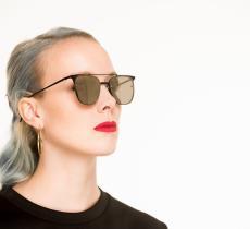 Bioplastica per gli occhiali del futuro