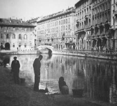 """""""Milano città d'acqua"""", apre la mostra con 150 immagini d'epoca"""