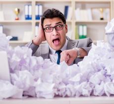 Come i cestini-desk aumentano il riciclo in ufficio
