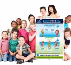 Hydration School, la campagna educativa sull'idratazione per bambini