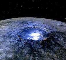 Ecco come l'acqua mantiene giovane il pianeta Cerere