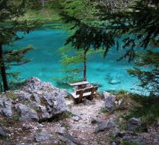 Grüner See: il parco che si trasforma in un lago