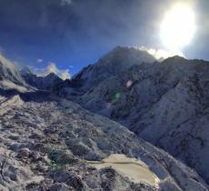 I ghiacciai himalayani hanno perso un quinto del volume d'acqua