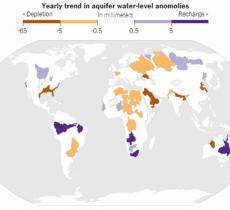 La NASA avverte: il mondo a corto di acqua
