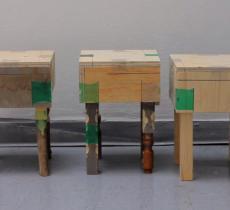 Joining Bottles: colla dalle bottiglie di plastica per unire il legno – In a Bottle