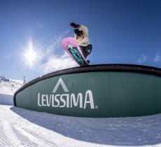 Levissima sponsor del Burton Mountain Mash 2019 - In a Bottle